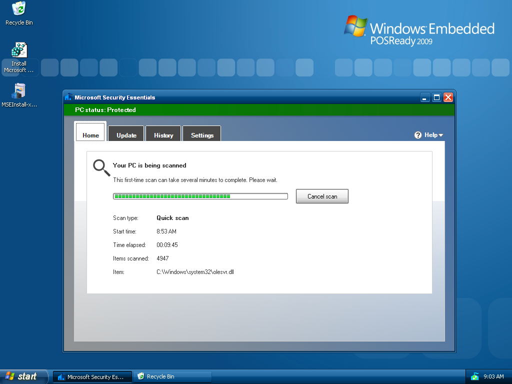 HOWTO instal... Security Essentials Download